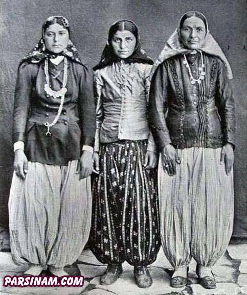دختران بالا شهر تهران در زمان قاجار parsinam.com l